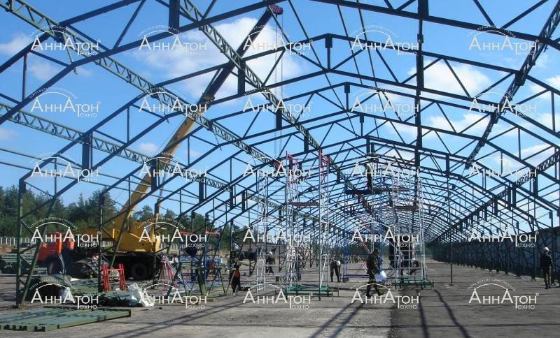 Металлоконструкции монтаж быстровозводимых зданий производство
